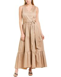 Max & Moi A-line Dress - Brown