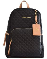 Adrienne Vittadini - Quilted Backpack - Lyst