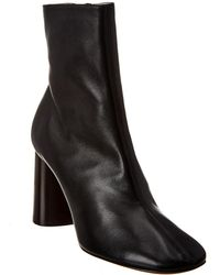Céline Leather Boot - Black