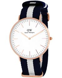 Daniel Wellington Men's Classic Glasgow Watch - Blue