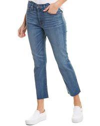J.Crew Jeans Slim Broken-in Crisp Sky Boyfriend Cut - Blue