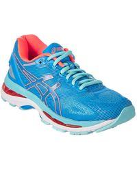 Lyst bleu Asics Gel Gel nimbus 18 bout rond chaussure chaussure de course synthétique en bleu 8bacb8e - sinetronindonesia.site