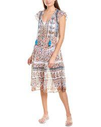 Shoshanna Veranda Breeze Midi Dress - White