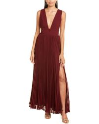 Fame & Partners The Weslin Gown - Red