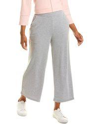 Jones New York Wide Leg Crop Pant - Grey