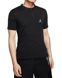 Nike Jumpman Polo Shirt - Black