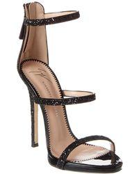 Giuseppe Zanotti Patent Sandal - Black