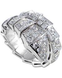 BVLGARI Bulgari Serpenti 18k 1.80 Ct. Tw. Diamond Ring - Metallic