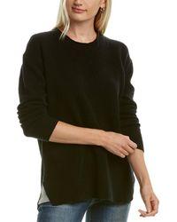 James Perse Oversized Cashmere Sweater - Black