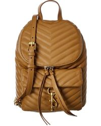 Rebecca Minkoff Edie Quilted Leather Backpack - Multicolour