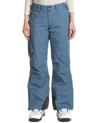 Mountain Hardwear Snowburst Insulated Cargo Pant - Gray