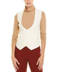 Akris Wool Vest - White