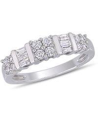 Rina Limor 10k 0.50 Ct. Tw. Diamond Anniversary Ring - Metallic