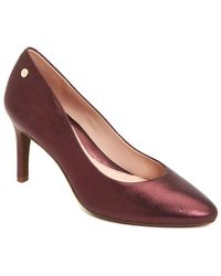 Taryn Rose - Tamara Leather Pump - Lyst