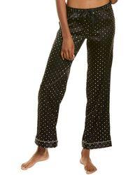 Morgan Lane Chantal Silk-blend Pant - Grey