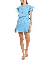 d.RA Alessia Wrap Dress - Blue