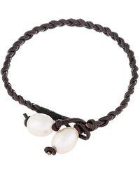 Splendid 10-11mm Pearl Bracelet - Multicolour