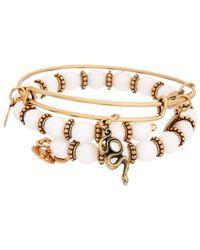 ALEX AND ANI - Snake Spirit Expandable Bracelet Set - Lyst