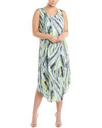 NIC+ZOE Maxi Dress - Green