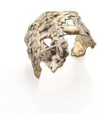 Noritamy | Orosi Tarnished Brass Cuff Bracelet | Lyst