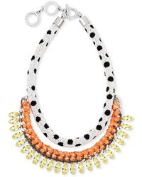 Forest Of Chintz - Masai Dalmation Necklace - Lyst