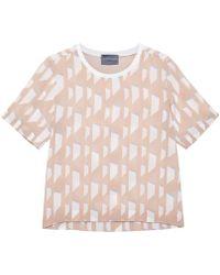 Antipodium - Razor Cosmetic Silk T Shirt - Lyst