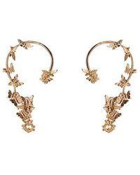 Bernard Delettrez - Butterflies Gold Ear Cuffs - Lyst