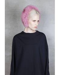 Onar - Magda Fur Headband - Begonia Pink - Lyst