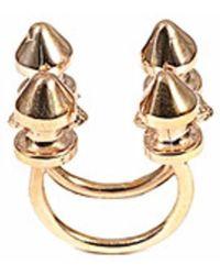 Bernard Delettrez | Four Stud Bronze Ring | Lyst