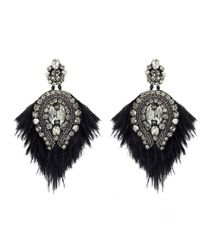 Forest Of Chintz - Jeweled Tulip Earrings - Lyst
