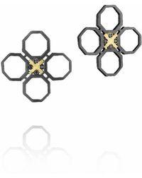 Madstone - Mini M8 Black Black Studs - Lyst
