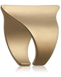Yael Salomon - Sharp 08 Gold Ring - Lyst