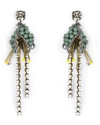 Tataborello - Summer Place Floral Earrings 21 - Lyst