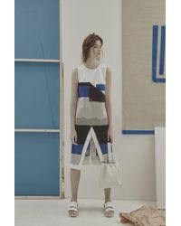 Jamie Wei Huang - Boyoun Colourblock Contrast Dress - Lyst