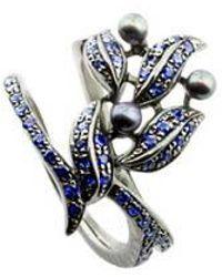 Karapetyan - Perola Sapphire Ring - Lyst
