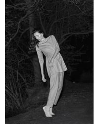 Gabriela Alexandrova - Pleated Sides Dress Top - Lyst