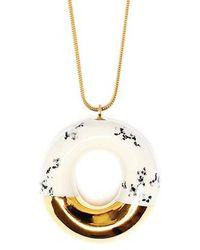 Tadam! Design - Milky Doughnut With Poppy Seeds And Gold Glaze - Lyst