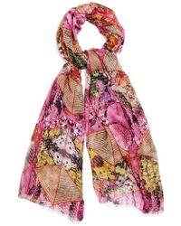Kekkai | Flower Cubes Cashmere Blend Scarf | Lyst