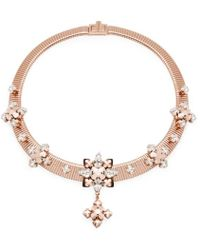 Ellen Conde | Greta Rose Gold Necklace | Lyst