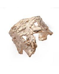 Noritamy - Orosi Rose Gold Cuff Bracelet - Lyst