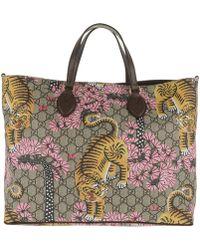 Gucci Supreme Shopping Bag Bengal Ebony/brown - Multicolor