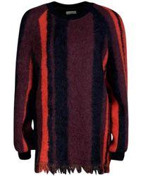 Dries Van Noten Multicolour Columbia Jumper - Red