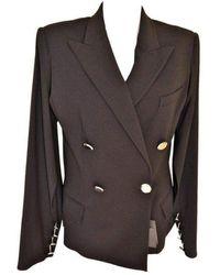 Jean Paul Gaultier Open Armpit Open Sleeves Blazer - Black