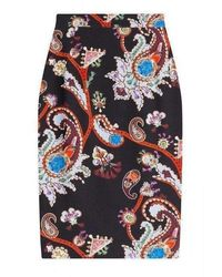 Mary Katrantzou 'heilen' Multicolor Pencil Skirt Pf15rbs0012