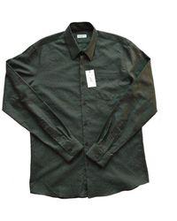 Dries Van Noten - Runway Curley Print Cotton Shirt - Lyst