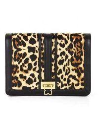 BCBGMAXAZRIA Ysabel Cheetah Print Shoulder Bag Urd651le-757 - Multicolor