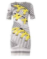Mary Katrantzou Oxenda Print Silk Jersey Dress - Yellow