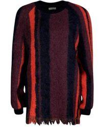 Dries Van Noten Multicolour Columbia Sweater - Red