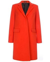 Paul Smith - Coral Cashmere & Virgin Wool Epsom Coat - Lyst
