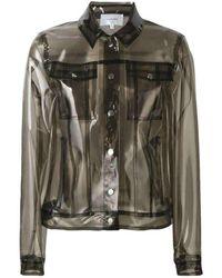 Carven Runway Rhodoid Transparent Jacket - Grey
